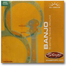 Jeu de Cordes Nikelés Pour Banjo à 5 Cordes