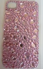 Diamonte Pretty Pink Jewels Design Sticker for Apple iPhone 4/4G/4S Phone Decal