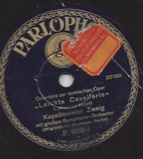 Kapellmeister  Fritz Zweig Staatsoper Berlin  1931 : Leichte Cavallerie