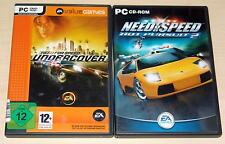 2 PC SPIELE SET - NEED FOR SPEED UNDERCOVER & HOT PURSUIT 2