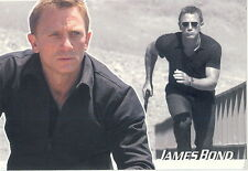 JAMES BOND HEROES AND VILLAINS 2010 PROMO CARD P1