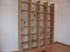 Bücherregal Eiche geölt Regal Buche Weiß lackiert massiv Regalwand Massivholz
