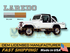 1985 1986 Jeep Scrambler Laredo CJ8 Decals & Stripes Kit