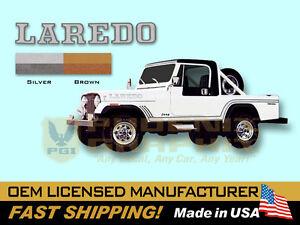1985 1986 Jeep Scrambler Laredo CJ8 Decals & Stripes Kit