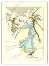 Affiche Vicomte Sasmira sur la glace signé 30x40