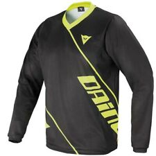 Dainese Long Sleeve DH Downhill Mountain Bike MTB Jersey Black XLarge Clearance