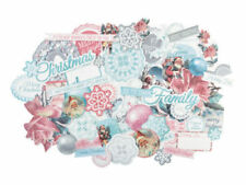 Silver Paper Scrapbooking Die-Cut Shapes & Punchies