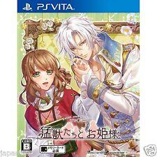 Moujuu-tachi to Ohime-sama PS Vita PLAYSTATION SONY JAPANESE NEW JAPANZON