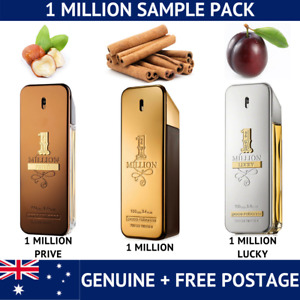 Paco Rabanne 1 Million - Lucky Prive Set -  2ml/5ml/10ml spray samples
