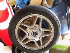 """2009 Mini Cooper Wheel W/ Center Cap 16""""x6 1/2"""" 5 Open Spoke Star design Silver"""