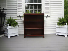 Vtg School Desk Teachers Bankers Lawyers Barristers Bookcase Shelf Shelving Unit