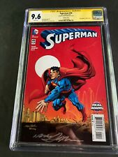 Superman #4 CGC 9.6 Variant Cover Signed by Neal Adams 2016 1410876008
