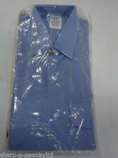 Unbranded Patternless Single Cuff Formal Shirts for Men