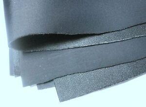 Bra Making Cut and Sew Foam. Bra Padding Fabric. Black Colour. 4mm Width