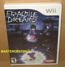 Wii Fragile Dreams: Farewell Ruins Of The Moon New Sealed & Wii U