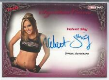 2009 TriStar TNA KNOCKOUTS Wrestling U-Pick BASE INSERTS AUTO