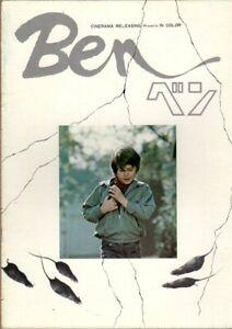 BEN Japanese Souvenir Program 1973, Phil Karlson, Michael Jackson
