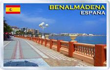 BENALMADENA SPAIN FRIDGE MAGNET SOUVENIR IMAN NEVERA
