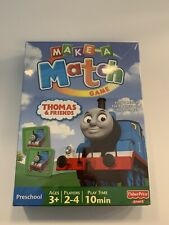 New In Box Thomas And Friends Make A Match Memory Game ~ Fisher Price