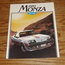 Original 1980 Chevrolet Monza Sales Brochure 80 Chevy