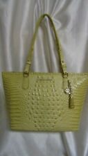 "WOMEN`S BRAHMIN "" MEDIUM ASHER"" TOTE HANDBAG NEW W/T LEMONADE MELBOURNE"