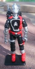 NEW G.I.JOE BLACK MAJOR CUSTOM UK RED SHADOW SKELETRON B.A.T.