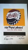 ANDY WARHOL [d'apres] Litografia - Pepsi-Cola - Edicion Limitada 3090 de 5000-Ta