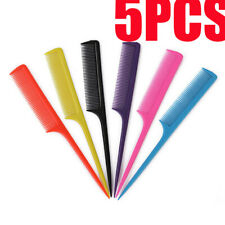 5PCS Hair Massage Heat Tool Woman Tail Bristle Plastic Make Up Peine Comb