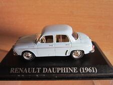 1/43 RENAULT DAUPHINE BLU 1961 IXO SPAGNA