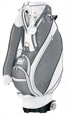 Dunlop Golf Xxio Ladies Caddy Bag w/ Caster 8.5 inch 4kg Ggc-X084W Gray