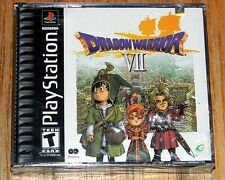 Brand New ~ DRAGON WARRIOR VII ~ Sony PlayStation 1 2001 ~ SEALED ~ PS1 DW 7 RPG