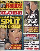 Globe Tabloid Magazine Oprah Barack Obama Prince William Kate Middleton Dr. Phil
