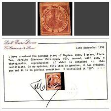 REGNO DI NAPOLI 1858 - 1/2 GRANO NUOVO T. L. (VLH)