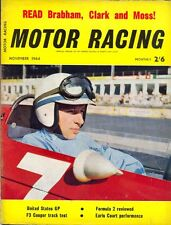 Motor Racing - BRSCC journal - magazine - November 1964