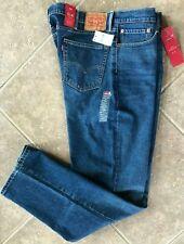 Levis 514 Straight Fit Jeans Mens Big & Tall 46 x 34 Med Denim Wash Stretch NWT