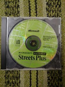 Microsoft Automap Streets 1997 Microsoft Home Platform: Windows 95 DISC ONLY NM