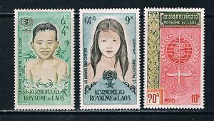 Laos 1962 Malaria Eradication */MLH SG 121-3