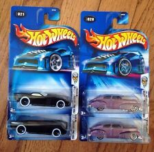 2004 Hot Wheels FE THE GOV'NER & Chevy Fleetline Wheel & Window Variations RARE!