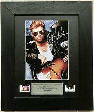 More details for george michael signed repro original film cell memorabilia v2