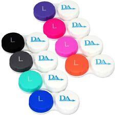 Estuche De Lentes De Contacto X 8 ~ conjunto de almacenamiento para los casos de color codificado Suave Lentes de viaje