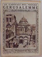 GERUSALEMME JERUSALEM ISRAELE ISRAEL LE CAPITALI DEL MONDO GLORIOSA AFRICA
