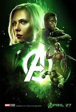 24x36 Avengers: Infinity War Movie Poster - The Hulk Mark Ruffalo v22 Banner