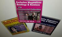 DMC COMMERCIAL COLLECTION ISSUES 421 422 + 423 DJ REMIX SERVICE CD 7-DISC BUNDLE