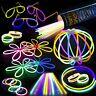 100 8 Premium Bulk Glowsticks Glow Stick Party Pack: Necklaces! Mixed Colors