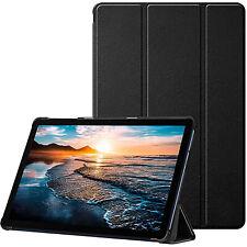COVER per Huawei MatePad T10 T10s CUSTODIA SMART CASE NERO SLIM SUPPORTO ANGOLO