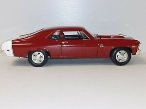 "1:18 ""Ertl"" 1969 Nova 'SS' ""Modified"""
