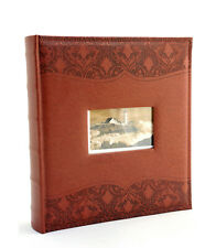 Elegante photo album personalizzabile Luxury Black 33x30 cm. con 60 pagine nere