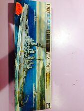 Aoshima Model Kits 46012 1:700 USS Washington Battleship Waterline