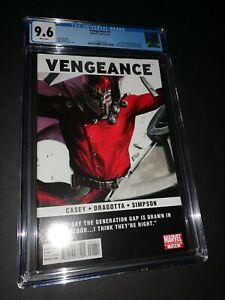 Vengeance #1 CGC 9.6 1st Appearance America Chavez Miss America