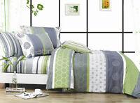 Pair of DEXTER Standard Size Pillowcases (fine Stripy ones) New 100% Cotton